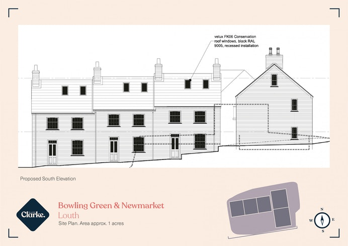 Bowling Green Lane and Newmarket Land, Louth for sale with Mr and Mrs Clarke estate agent